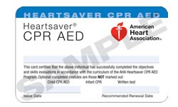 CPR, AED & First Aid Classes in San Antonio